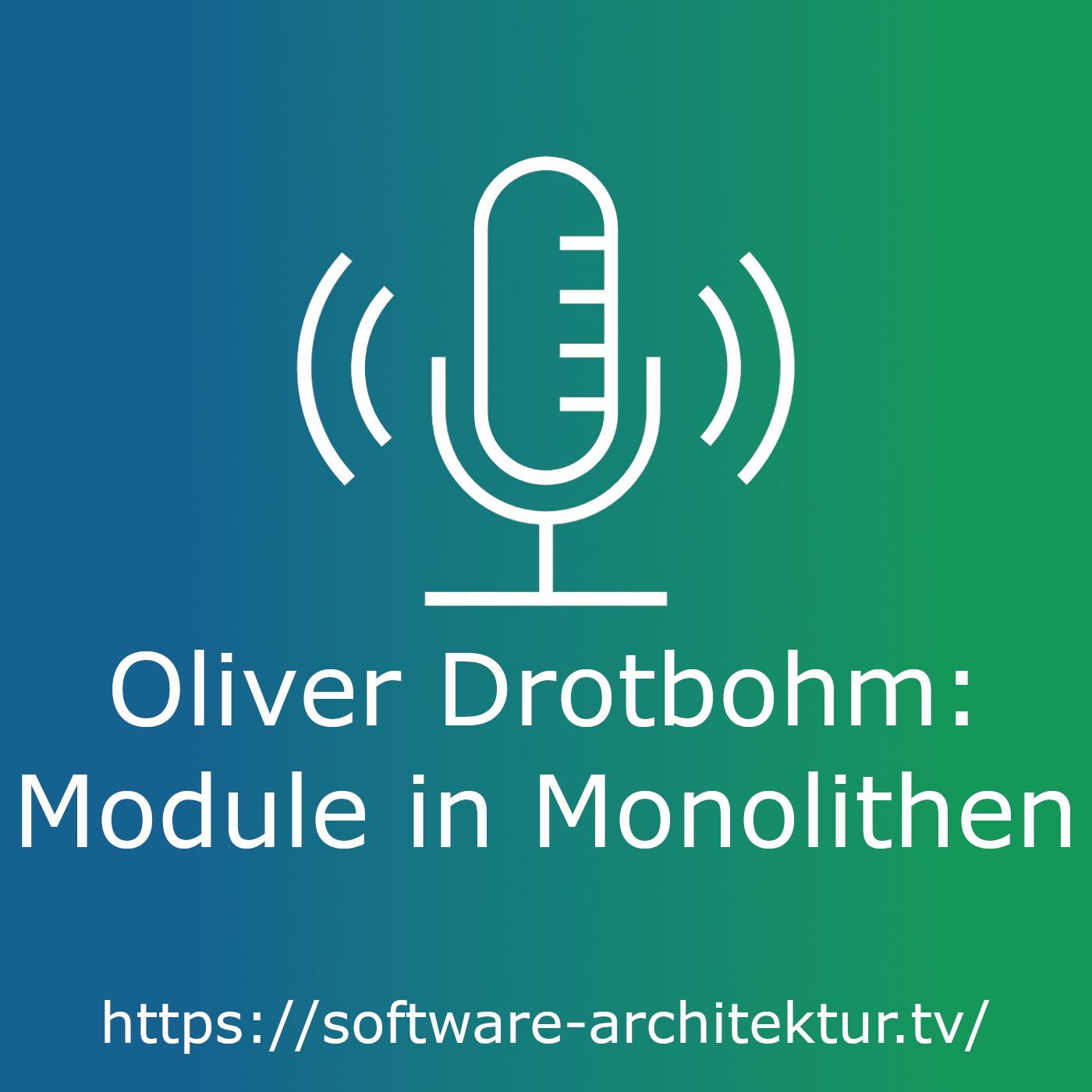 Oliver Drotbohm - Module in Monolithen
